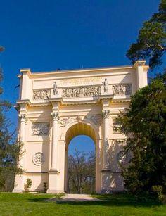 """Rendez-vous""  (Lednice-Valtice area), South Moravia, Czechia #chateau #castle #neoclassical #Czechia"