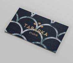 Tabarka Studio designed by Anagrama -- gorgeous card