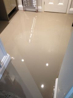 FBall 300hd floor screed nearly ready for Karndean.