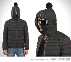 This could possibly be the best winter jacket ever…