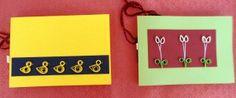HANDMADE NOTEBOOK. Handmade binding notebook with paper quilling cover. Quaderni rilegati a mano e decoro in filigrana di carta. Chiusura con filo di cotone intrecciato.