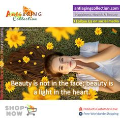 💗 Follow us on social media for tips on Happiness, Health  Beauty  #AntiAgingTips #AntiAgingFact #AntiAging #AntiAgingCollection #AntiAgingShop #LookAndFeelYoung #naturalskincaretips