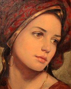 Buy art by Ken Hamilton at Gormleys Fine Art gallery. Leading dealers in Irish art since Irish Art, Classical Art, Woman Painting, Aesthetic Art, Portrait Art, Beautiful Paintings, Face Art, Art Girl, Amazing Art