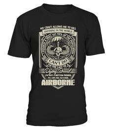 # Airborne paratrooper T-Shirt .  Tags: military, veterans, veteran, wife, love, funny, Warishellstore, War, Is, Hell, Store, Effort, Vintage, Rifle, Revolver, Propaganda, Political, Police, Patriotic, Navy, Government, Army, Americana, tenis, states, sport, soccer, politic, music, love, life, hot, item, hobby, healthy, good, geek, game, footbal, famous, family, country, cheap, best, basketball, animal, fleet, berth, armada, Usa, Troops, Stars, Stripes, Sea, Patriot, Memorial, Marine, Labor…