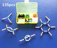 أنبوب صغير هيكل نموذج من نماذج الجزيئية لل طلاب الكيمياء العضوية جزيئات الكيميائية التدريس شحن مجاني(China (Mainland))