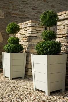 Neptune Garden Planters - Southrop Painted Planter - Tall