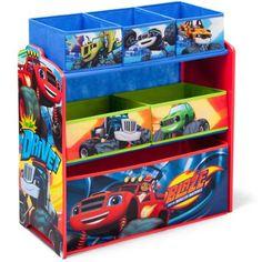 Blaze and the Monster Machines Multi-Bin Toy Organizer by Delta Children