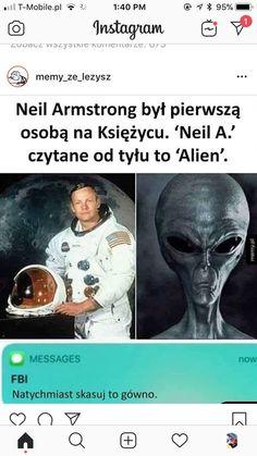 He strikes again comrades, he strikes again Neil Armstrong, Funny Animal Jokes, Funny Animals, Polish Memes, Past Tens, Aesthetic Memes, Funny Mems, American Story, Moon Landing