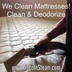 Lincoln Steam Carpet Cleaning can clean your mattress and upholstery. Call today for your free estimate