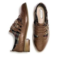 mark. Mad About Plaid Brogues