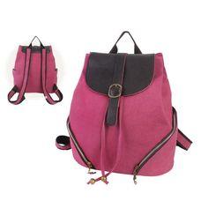 Women New Vintage Style Canvas Satchel Backpack Shoulder School Bag 4 color 8146 in   eBay