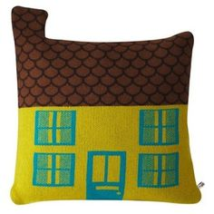 donna wilson's house shaped cushions