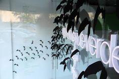 halloween estudio diseño murciélagos
