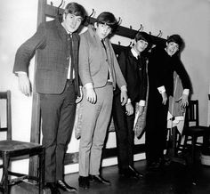 John Lennon George Harrison Ringo Starr and Paul McCartney | Rare and beautiful celebrity photos