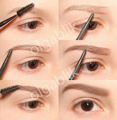 Big eyebrows tutorial