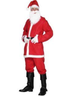50aecd9d919 Bargain Santa Fancy Dress Costume  £5.49  Mens Christmas Costumes