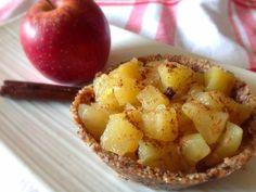 torta maçã fit