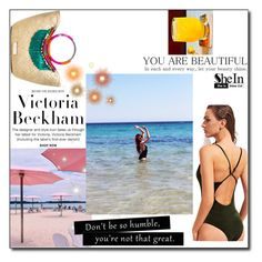"""""""swimwear"""" by antonia88 ❤ liked on Polyvore featuring Victoria Beckham and Bellini"""