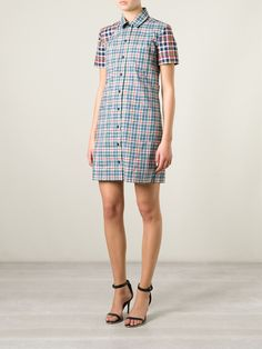 #victoriabeckham #dress #shirt #plidshirtdress #womenswear www.jofre.eu