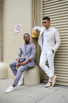 Leo Chan, Levitate Style and Sabir Peele, Men's Style Pro at NYFWM