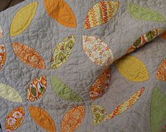 Great combination of colors in this quilt!