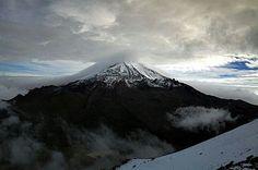 Sierra Negra, Puebla, México. Que belleza de vista!