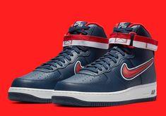 Nike Air Force 1 High Washington Wizards AV3938 400
