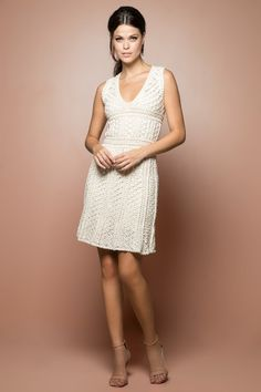 Vestido Crochet Mithos Netuno - Vanessa Montoro - vanessamontoro