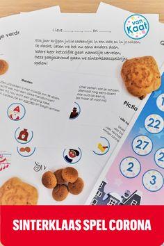 Maak er dit jaar een echt gezellige avond van met sinterklaas en pakjesavond! Speel met z'n allen het pakjesavondspel met jong en oud: grappige en leuke opdrachten in het sinthhema, van proeven tot zingen en een quiz! Pancakes, Breakfast, Blog, Crowns, Morning Coffee, Pancake, Blogging, Crepes