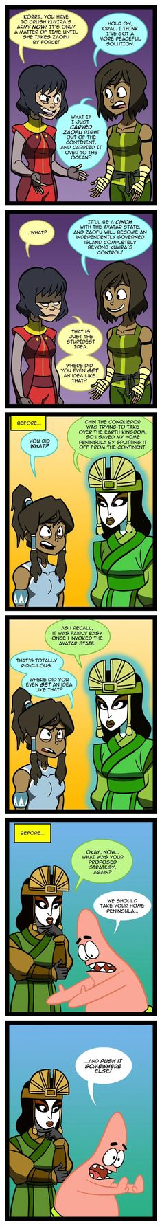 Now Why Didn't I Think Of That? | Avatar: The Last Airbender / The Legend of Korra | Know Your Meme