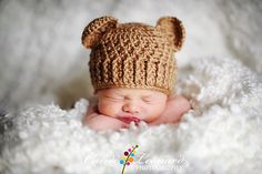 Ravelry: Teddy Bear Hat Crochet Pattern pattern by The Crochet Sisters