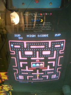 Ms. Pac Arcade Machine www.wonderfinds.com/item/3_290906248881/c13725/arcade-machine