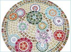 Bildergebnis für free mosaic patterns for tables