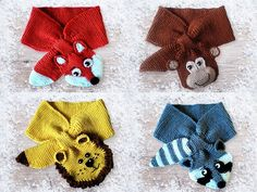 Knitting Tutorial Toddler and Children Scarf Four by Petrapatterns ~ KNIT ~ so sweet!