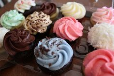 Crave Cupcakes - For the sweet tooth in everyone. Mini Cupcakes, Yummy Treats, Cravings, Sweet Tooth, Desserts, Calgary, Food, Tailgate Desserts, Deserts