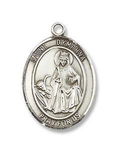 Isidore The Farmer Hand-Crafted Oval Medal Pendant in 14kt Yellow Gold-Filled Bonyak Jewelry St