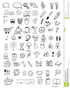 doodle-icons-set-various-hand-drawn-32102106.jpg (1041×1300)