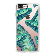 Tropical Glam iphone and ipod case - iPhone 7 Plus Case And Cover (145 PLN) ❤ liked on Polyvore featuring accessories, tech accessories, iphone case, iphone cover case, iphone cases, apple iphone case and clear iphone case