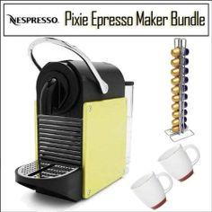 Nespresso Pixie D60 Single Cup Espresso Maker Outfit by Nespresso. $219.95. Nespresso Pixie D60 Single Cup Espresso Maker Kit.