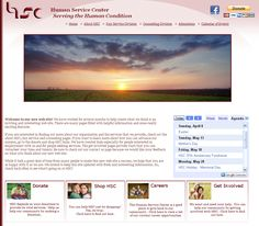 Human Service Center Website http://ourhsc.org/