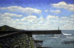 "Saatchi Art Artist Andrew Francis; Painting, ""Aberystwyth 3"" #art"