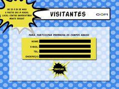 Inscrição Visitantes