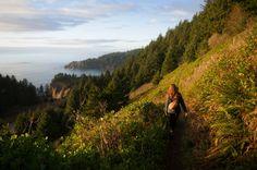 Sunset hikes around Portland.