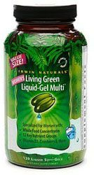 Irwin Naturals Living Green Multi For Women, 120 Soft-Gels - Women's Vitamins - Vitamins and Minerals - A1Supplements.com