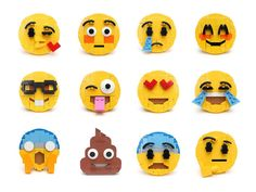 Brick-mojis | Because LEGO bricks have feelings too! These a… | Flickr