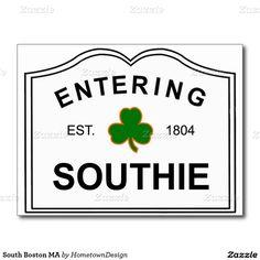 South Boston MA Postcard
