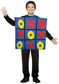 Costumi di Carnevale fai da te per bambini - Tris di cartone