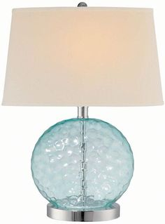 #HomeDecorators    Feels like water.  Won't take up a lot of visual space on the minimalist nightstands.