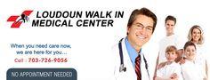 Health center Ashburn offers emergency care, medical center, doctors, urgent care. walk in clinic Ashburn, Loudoun VA.