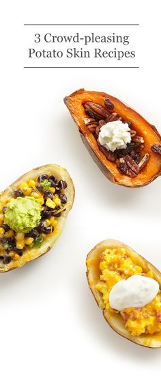 ... sweet option with sweet potato skins, brown sugar and whipped cream